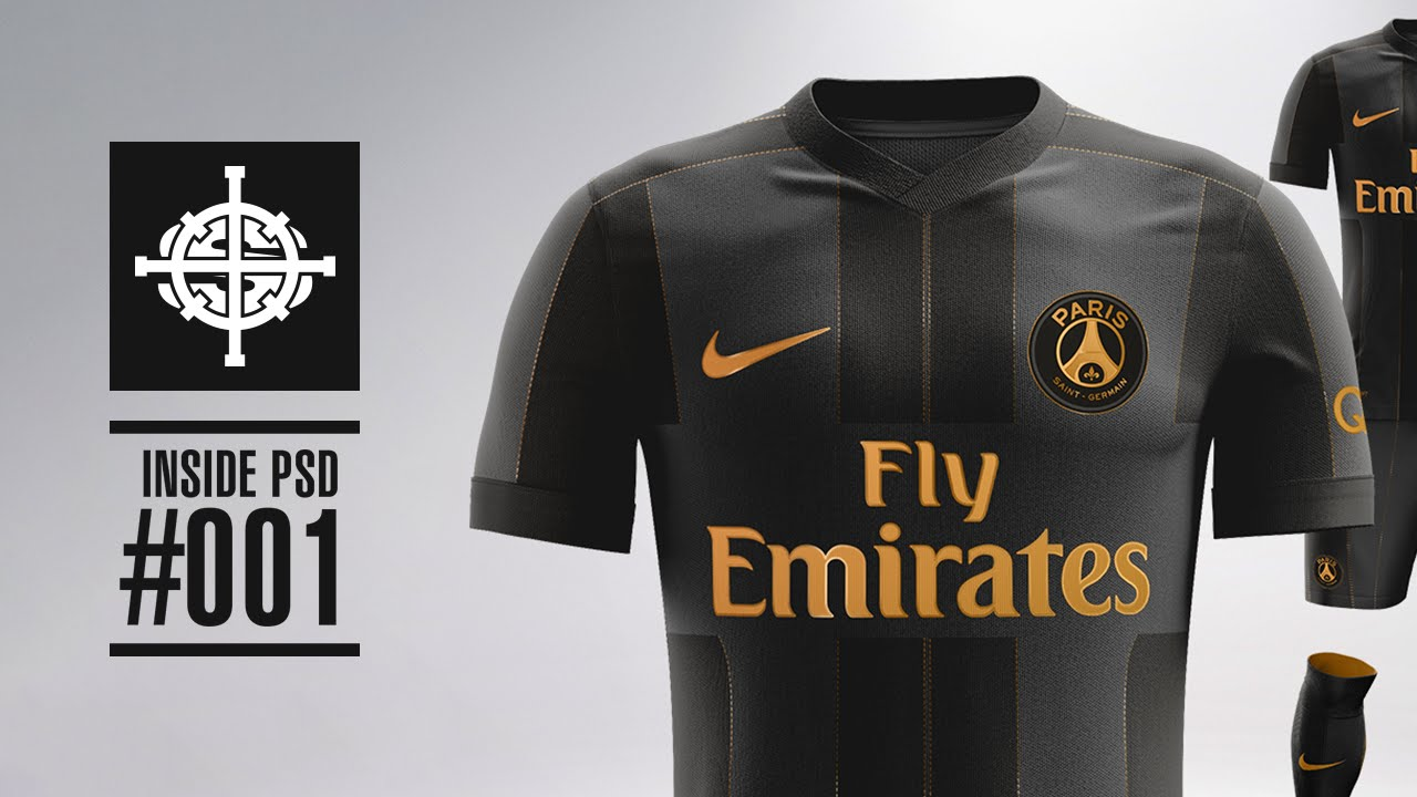 new arrival 45786 64a76 NIKE X BALMAIN PARIS SAINT GERMAIN KIT CONCEPT // INSIDE PSD #001