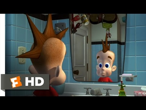 Jimmy Neutron: Boy Genius 110 Movie   Getting Ready For School 2001 HD
