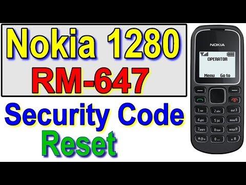 how to unlock puk code nokia 1280