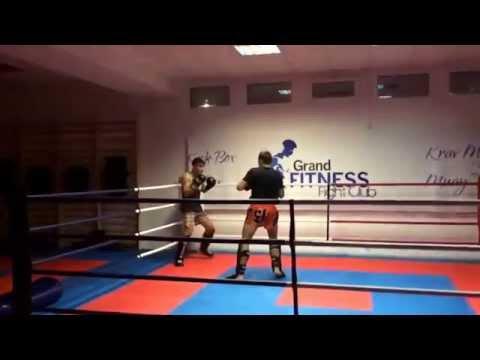 Florin Dumitrescu Fight Club Sparring 24.10.2014 Remus vs Robert