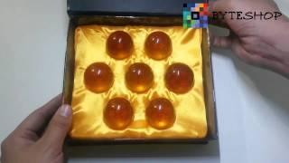 Set De 7 Esferas Del Dragon 4cm Excelente Regalo! Dragon Ball Z  Byteshop.com.mx