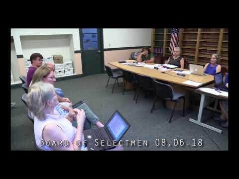 Board of Selectmen 08.06.16