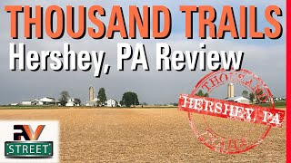 RVstreet - Thousand Trails Hershey RV Park, in Lebanon, Pennsylvania, Camp Ground Review (video)