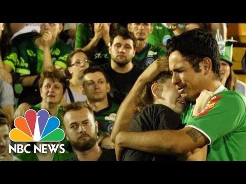 Chapecoense Fans Mourn At Brazil Soccer Team's Stadium ...