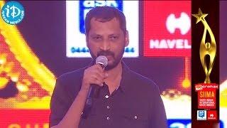 "SIIMA 2014 Tamil - Best Lyricist Na. Muthukumar for ""Ananda Yaazhai"" Song - Thangameengal"