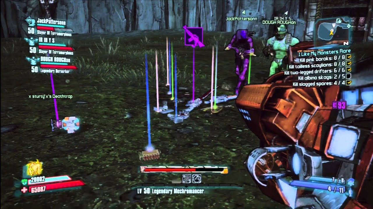 Borderlands 2 Dexiduous The Invincible Sir Hammerlocks