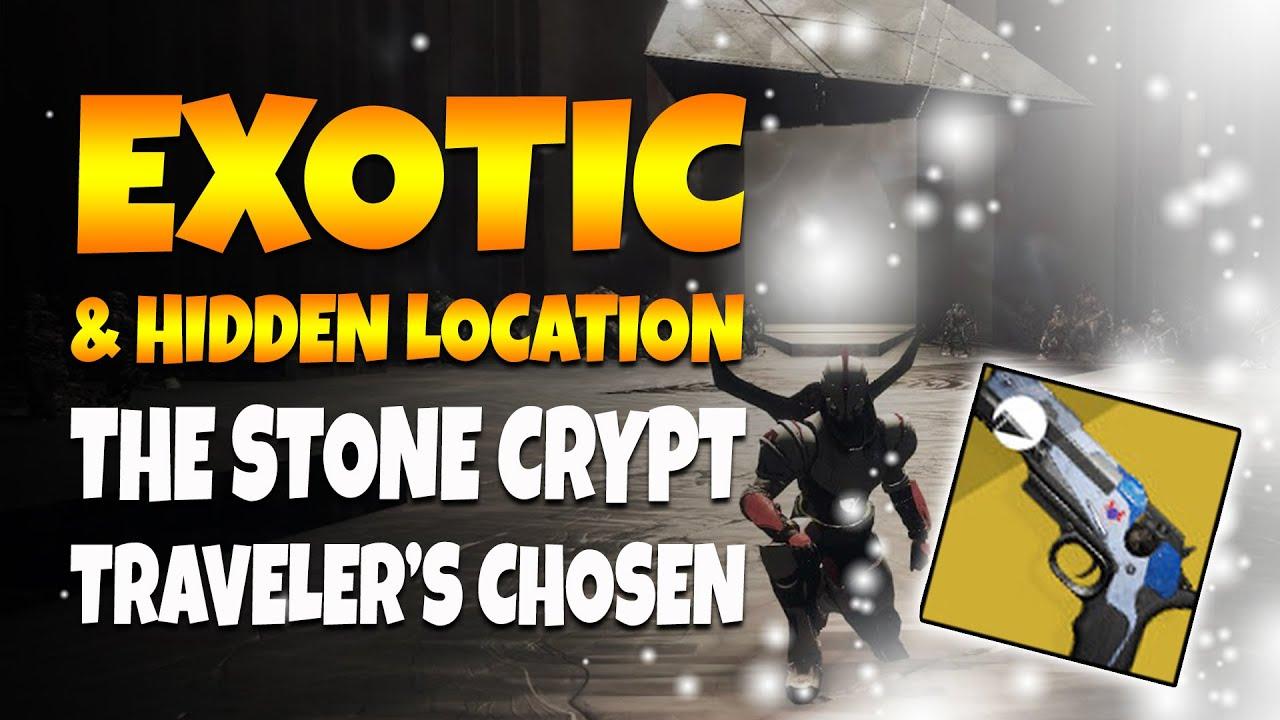 Destiny 2 | NEW Exotic Quest & HIDDEN STONE CRYPT!