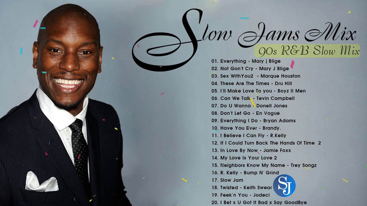 BETS 90'S SLOW JAMS ~Keith Sweat, Tyrese, Aaliyah, Genuine,R Kelly SWV & More