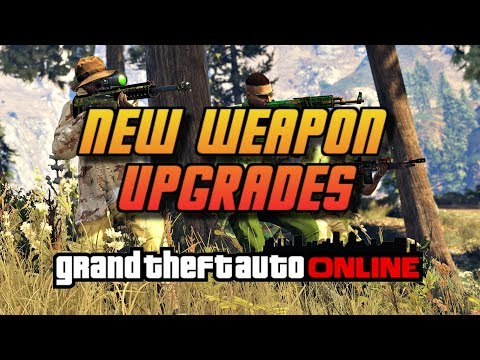 GTA Online[GTA5] Gunrunning DLC   New Weapons Upgrades