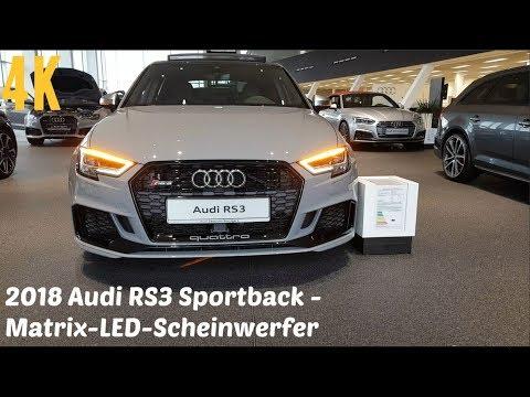 2018 Audi Rs3 Matrix Led Scheinwerfer Dynamischer