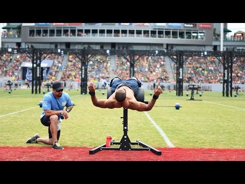 The CrossFit Games: Individual Midline March