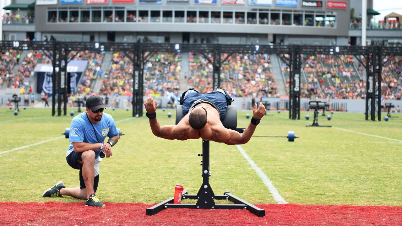 The Crossfit Games Individual Midline March Youtube
