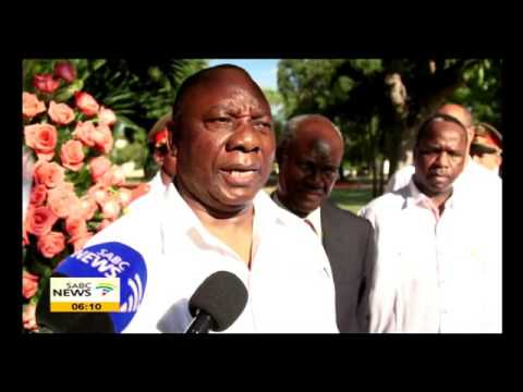 Ramaphosa on official visit to Cuba