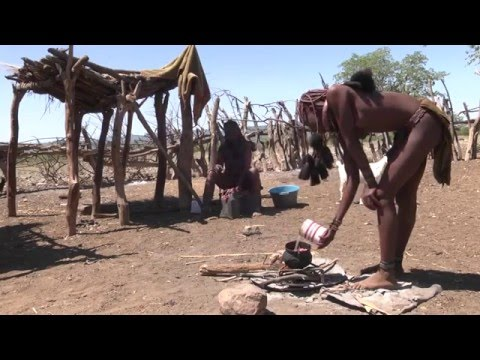Africa   Himba Tribe Village Life