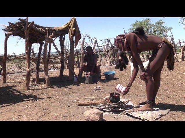 Africa   Himba Tribe Village Life