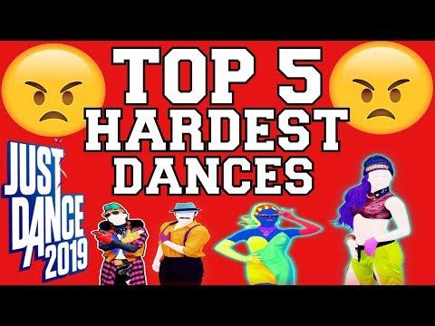 Top 5 Hardest Dances On Just Dance 2019!