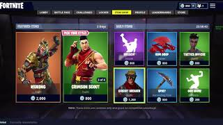 Fortnite Item Shop Mars 21 'Chinese New Year Skins Are Back!