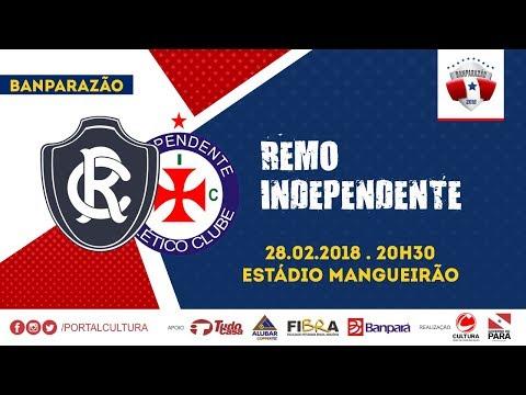 BANPARAZÃO 2018 - REMO X INDEPENDENTE - 28/02/2018