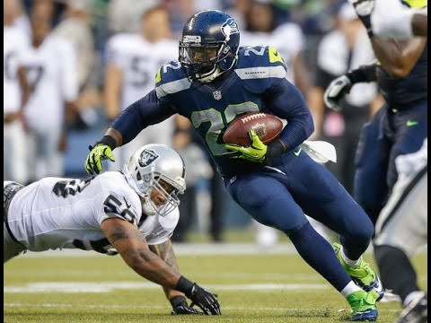 Seattle Seahawks 17, Oakland Raiders 7, HALF #OAKvsSEA