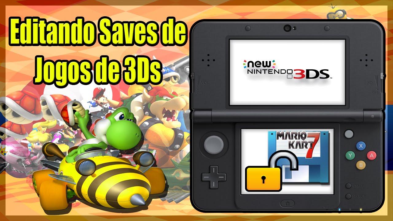 [3DS] Game Save Editor - Como editar saves de jogos de 3DS