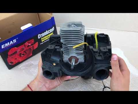 Двигатель бензопилы Partner 351-401. Обзор