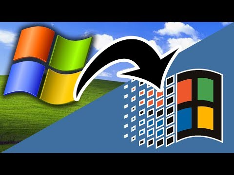 Make Windows XP Look Like Windows 9x And 2000! - Inexperience Patcher (Overview & Demo)
