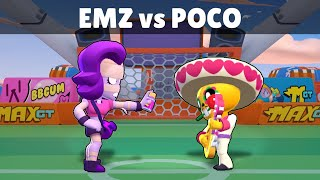 EMZ vs POCO | 15 Tests | Best Brawler in Brawl Stars?