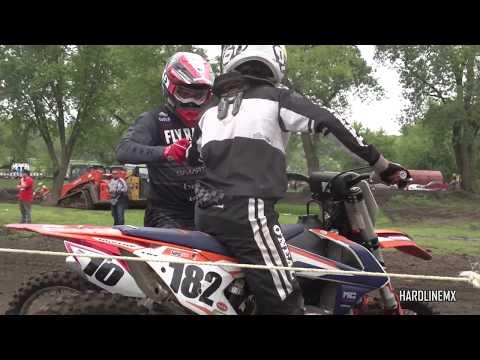 HMX RAW Clips | JB10 Shootout @ Riverside Raceway|| HardlineMX