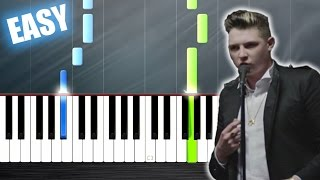 John Newman - Love Me Again - EASY Piano Tutorial by PlutaX
