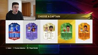 INSANE RAINBOW FUT DRAFT!!! CRAZY MULTI-COLOURED FIFA 16 FUT DRAFT!!!