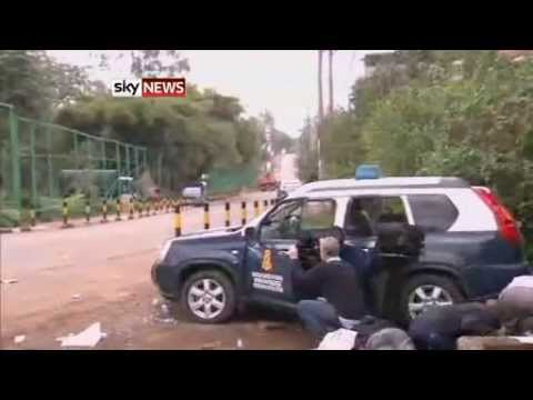 Nairobi Mall Shooting: Sound Of Gunfire Rattles Outside