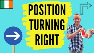 Driving Lesson - Position Turning Right and Yellow Box