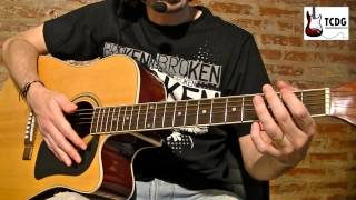 Como Tocar Feliz Cumpleaños En Guitarra Acordes Tcdg Youtube