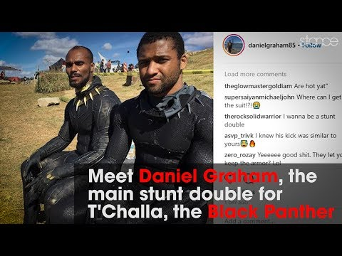 Daniel Graham // Tricking & Stunt Double to The Black Panther // .stance