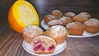 ТЫКВЕННЫЕ  МАФФИНЫ: полезная и быстрая выпечка К ЧАЮ!/Pumpkin muffins