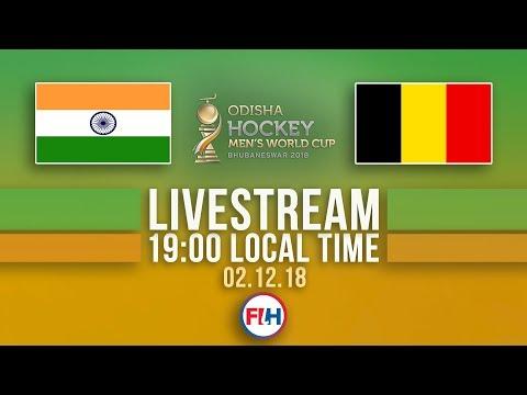 India v Belgium | 2018 Men's Hockey World Cup | FULL MATCH LIVESTREAM