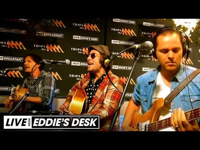 Australian Rock Collective Cover Crowded House's 'Distant Sun' | Hot Breakfast | Triple M