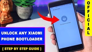 How To Unlock Bootloader Of Xiaomi Phone Official Step By Step Guide   Avoid Stuck Problem 2017