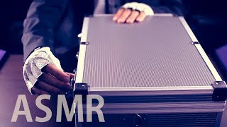 "[ASMR Binaural] Mr Briefcase #3 : ""The Crinkly Fix"" (Roleplay) - with English soft spoken"