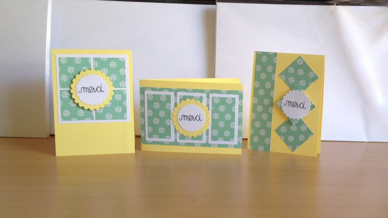 Make Cute French Thank You Cards Diy Crafts