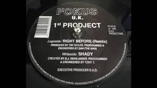 1st Prodject - Shady