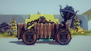 Besiege - Small Catapult! (+ Little Flying Man Lol)