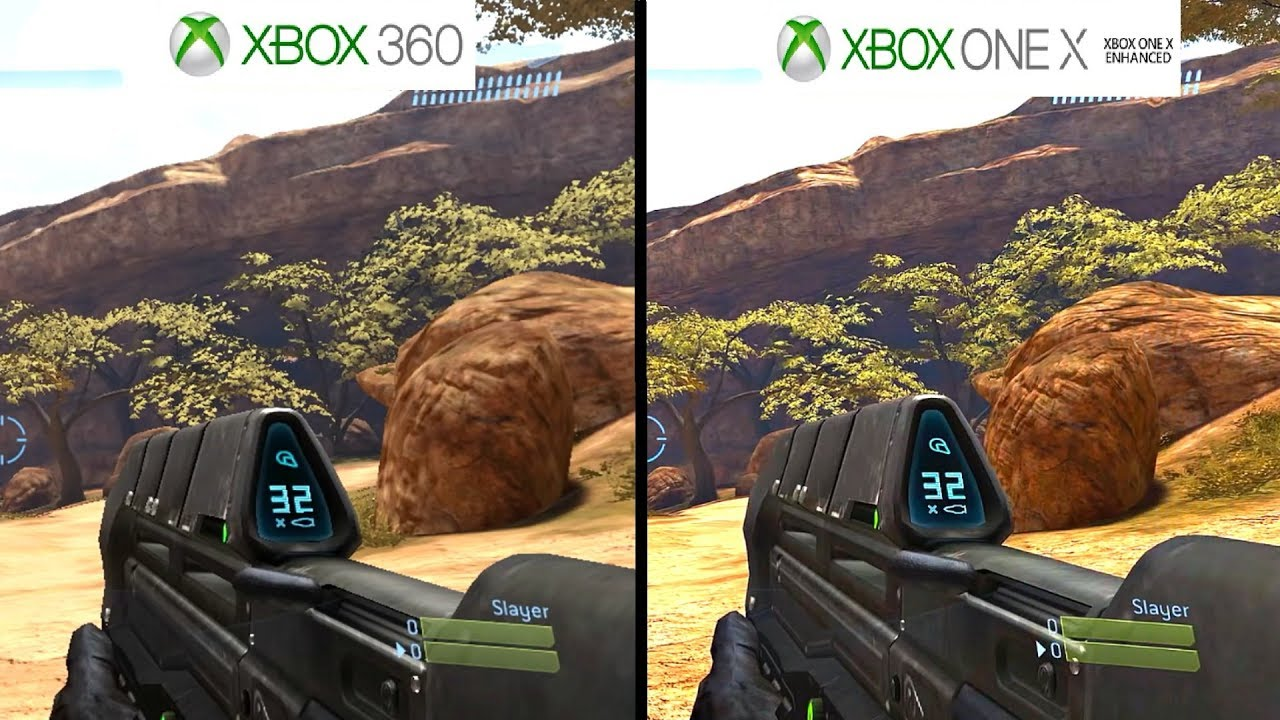 halo 3 xbox one x vs xbox 360 graphics comparison 1080p 60fps youtube. Black Bedroom Furniture Sets. Home Design Ideas