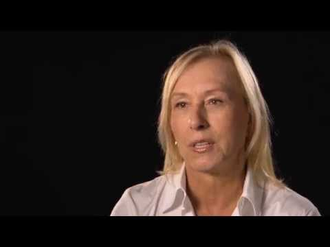 Martina Navratilova | 2015 WTA Finals Legends Interview