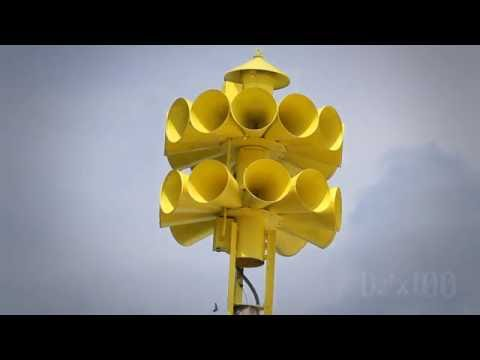 Federal Signal 3T22A, Alert: Bicknell, IN (Knox Co. Tornado Siren Test, HD)