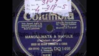 Enzo De Muro Lomanto - Mandulinata a Napule (con testo e com tradução)