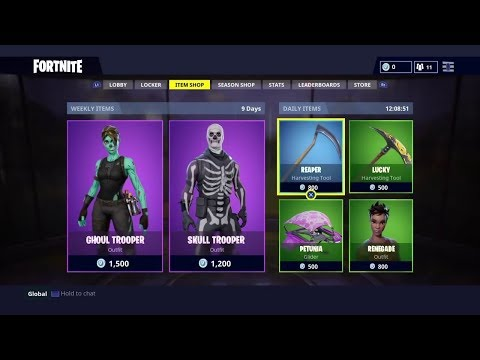 NEW FORTNITE ITEM SHOP LIVE COUNTDOWN August 7