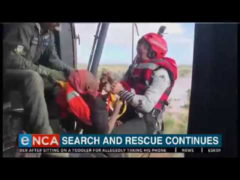 Search and rescue continues by air in Mozambique
