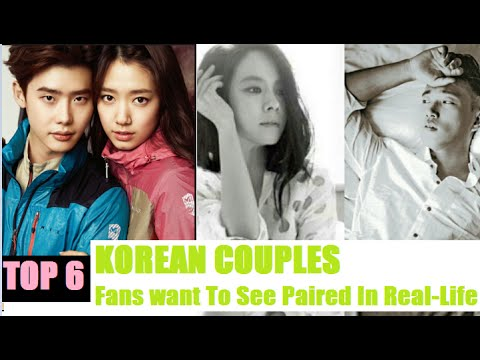 Top 6 On Screen Korean Couples Fans want To See Paired In Real Life