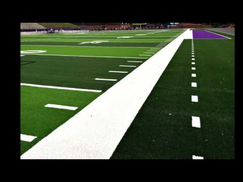 Gilmer County High School's new synthetic turf DT system